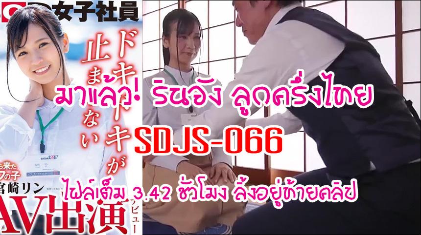 Rin Miyazaki ลิ้งโหลด SDJS-066 รินจังลูกครึ่งไทย